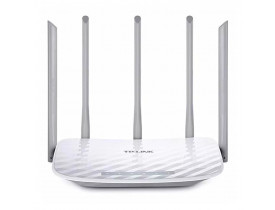 ROTEADOR WIRELESS 1350MBPS 10/100 DUAL BAND ARCHER C60 AC1350 TP-LINK (5 ANTENAS) - 1