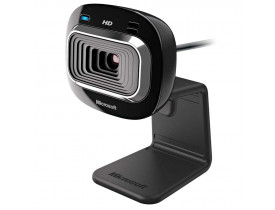 WEBCAM** USB C/MIC HD LIFECAM HD-3000 T3H-00011 PRETA MICROSOFT - 1