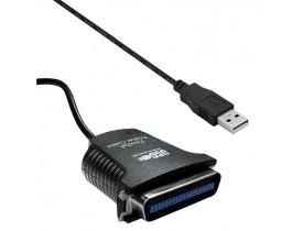 CABO CONVERSOR USB X PARALELO DB25 25 PINOS FEMEA - 1