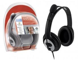 HEADSET C/MIC LX-3000 USB PRETO JUG-00013 (SUBST JUG-00004) MICROSOFT - 1