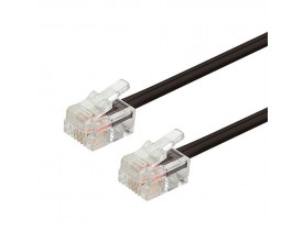 CONECTOR MACHO RJ11 6X4 - 1