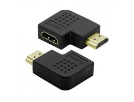 ADAPTADOR HDMI FEMEA X MACHO ADAA730PPB PIXXO - 1
