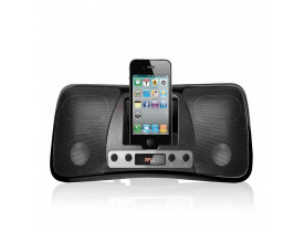 DOCK STATION MP3 PARA IPHONE/IPOD USB/SD/P2 PRETA SP162 MULTILASER - 1