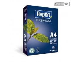 PAPEL** A4 BRANCO 210X297 75G PREMIUM REPORT - 1
