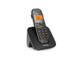 TELEFONE SEM FIO TS5120 ID + VIVA VOZ PRETO  INTELBRAS - 1