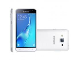 "SMARTPHONE GALAXY J3 DUOS SM-J320M 4G TELA 5.0"" CAM 8MP QUAD CORE 1.5GHZ 8GB BRANCO SAMSUNG - 1"