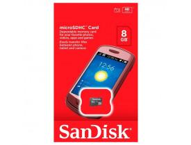 MEMORY CARD 8GB MICRO SDHC 1 CLASSE 4 SDSDQM-008G-B35 SANDISK - 1