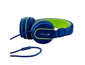 HEADPHONE FUN SERIES ON EAR STEREO AZUL-VERDE PH162 PULSE - 1