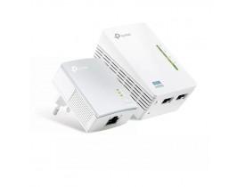 REPETIDOR AV500 WIFI POWERLINE EXTENSOR KIT 300MBPS TL-WPA4220 TP-LINK - 1