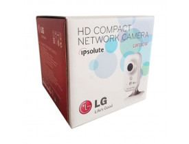 CAMERA IP SECURITY COMPACTA WIRELESS/RJ45 HD 1280X720P W130W-D 30FPS LG - 1