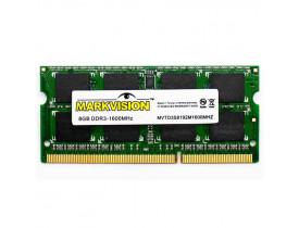 MEMORIA 8GB DDR3 1600 NOTEBOOK CL11 1.5V MARKVISION - 1