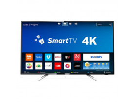 "TV LED 50"" SMART UHD 4K CONVERSOR DIGITAL 4 HDMI 2 USB WI-FI 50PUG6102/78 PHILIPS - 1"