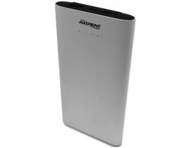 BATERIA PORTATIL 2 USB 12000MAH PRATA 6012182 MAXPRINT - 1