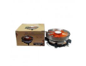 COOLER UNIVERSAL PARA PROCESSADOR INTEL/AMD 775 LGA1155/1156/1150 (BC-01UA) BLUECASE - 1