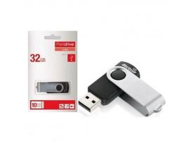 PENDRIVE 32GB TWIST USB 3.0 PD989 PRETO MULTILASER - 1