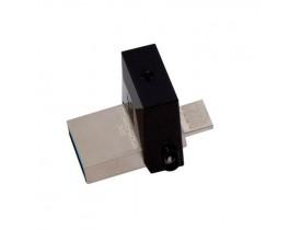 PENDRIVE 16GB USB DTDUO/16 DT MICRO DUO E MICRO USB 3.0 OTG KINGSTON - 1