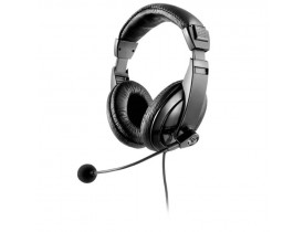 HEADSET HASTE FLEXÍVEL C/MICROFONE METAL PRETO PH049 MULTILASER - 1