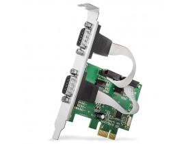 PLACA PCI EXPRESS C/2 SERIAIS BR CABOS - 1