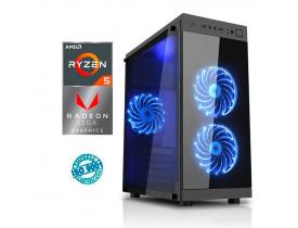 COMPUTADOR GAMER  AMD RYZEN 5 2400G 8GB HD 1TB PLACA RADEON RX 2GB FONTE 500W COMPUSONIC - 1