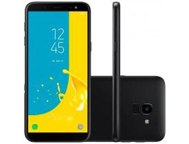"SMARTPHONE GALAXY J6 DUAL 4G TELA 5.6"" CAM 13MP OCTA CORE 1.6 GHZ 32GB PRETO SAMSUNG - 1"