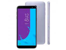 "SMARTPHONE GALAXY J6 DUAL 4G TELA 5.6"" CAM 13MP OCTA CORE 1.6 GHZ 32GB PRATA SAMSUNG - 1"