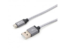 CABO MICRO USB 1.50MT NYLON TRANCADO TITANIUM MIC15T GEONAV - 1