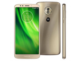 "SMARTPHONE** MOTO G6 PLAY XT1922 4G 32GB TELA 5.7"" OCTA-CORE DUAL CHIP ANDROID 8.0 OURO MOTOROLA - 1"
