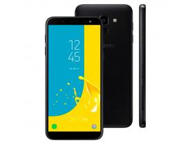 "SMARTPHONE** GALAXY J6 TV DUAL 4G TELA 5.6"" CAM 13MP OCTA CORE 1.6 GHZ 64GB PRETO SAMSUNG - 1"
