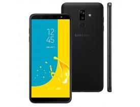 "SMARTPHONE** GALAXY J8 DUAL 4G TELA 6"" CAM 16MP OCTA CORE 1.8GHZ 64GB PRETO SAMSUNG - 1"