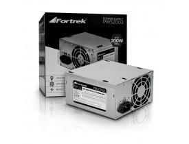 FONTE ATX 200W 20+4P PWS-2003 FORTREK - 1