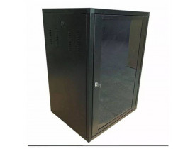 "RACK PAREDE 19"" 16U X 500MM PRETO PROTECTM - 1"