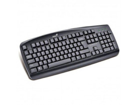 TECLADO USB KB-110 MULTIMIDIA PRETO 31300700141 GENIUS - 1
