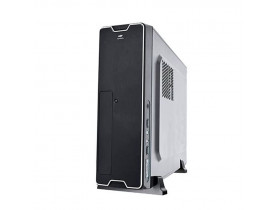 GABINETE MICRO ATX SLIM COM FONTE 200W DT-150BK C3TECH - 1