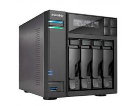 SERVIDOR DE ARMAZENAMENTO BACKUP E VIDEO NAS AS3204T INTEL  QUAD CORE J3060 1.6GHZ 2GB DDR3 ASUSTOR - 1