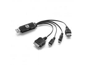 CARREGADOR  MULTFUNCAO USB+DADOS UC-04 C3T - 1