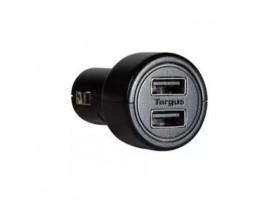 CARREGADOR VEICULAR COM 2 PORTAS USB APD05 TARGUS - 1