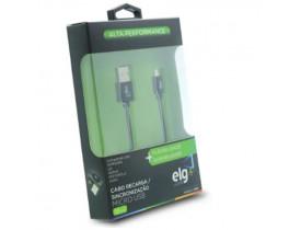 CABO MICRO USB PARA RECARGA E SINCRONIZAÇÃO M510 ELG - 1
