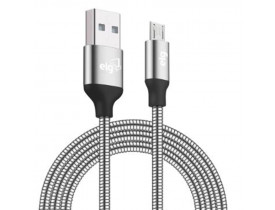 CABO RECARGA/SINCRONIZAÇÃO MICRO USB BLINDADO INOX INX510RG  ELG - 1