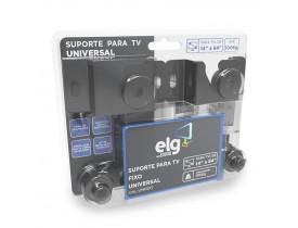 SUPORTE FIXO UNIVERSAL DE PAREDE PARA TVS LED PLASMA LCD 3D DE 14 A 84 UNI100 ELG - 1