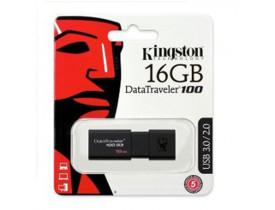 PENDRIVE 16GB USB DT100/16 DT106  USB 3.0 KINGSTON - 1