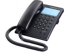 TELEFONE COM FIO PRETO KX-T7701BR-B PANASONIC - 1