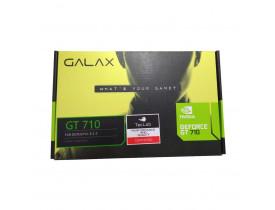 PLACA DE VIDEO PCI-E 1GB DDR3 GT710 LOW PROFILE C/DVI/HDMI/VGA 64BITS 71GGF4DC00WG GALAX