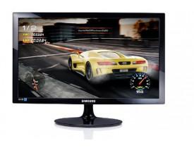 "MONITOR 24"" LED FULL HD C/VGA/HDMI LS24D332HSXZD PRETO SAMSUNG - 1"