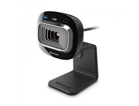WEBCAM USB C/MIC HD LIFECAM HD-3000 T3H-00011 PRETA MICROSOFT CE - 1