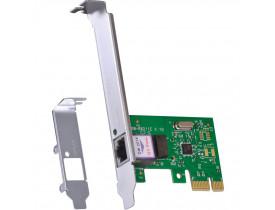 PLACA REDE PCI-EXPRESS 10/100/1000 PRV1000E LOW PROFILE RTL8111E VINIK - 1