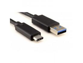 CABO USB TIPO-C PARA RECARGA/SINCRONIZAÇÃO DE SMARTPHONES 1M PRETO CBUS0022 STORM - 1