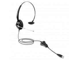 HEADSET MONOAURICULAR C/MICROFONE THS55 (CONEXAO USB) INTELBRAS - 1