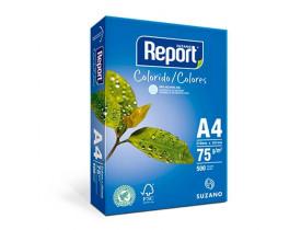 PAPEL** A4 BRANCO 210X297 RHC1075 REPORT CE - 1