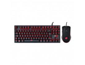 KIT TECLADO+MOUSE USB GAMER MK50LR PCYES - 1