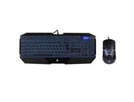 KIT TECLADO+MOUSE GAMER  USB PRETO GK1100 HP - 1